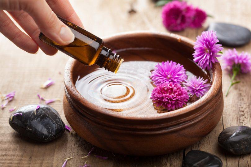 Jen přírodní olej je vhodný k aroma terapii